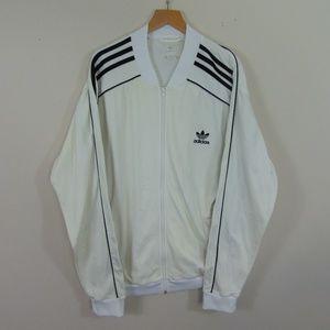 Adidas Originals Men L Full Zip Track Jacket